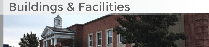Buildings and Facilities banner graphic