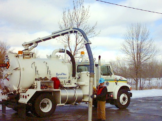 Sewer Vacuum Truck Photo graphic