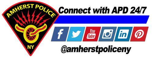 Patch with Social Media graphic