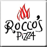 Rocco's Wood Fired Pizza Logo graphic