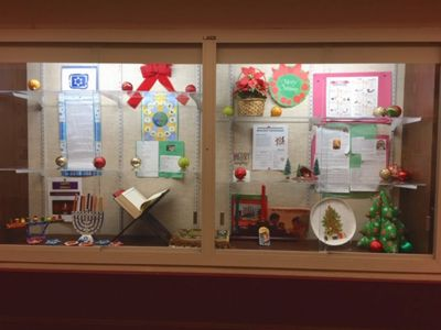amherst community diversity commission holiday display